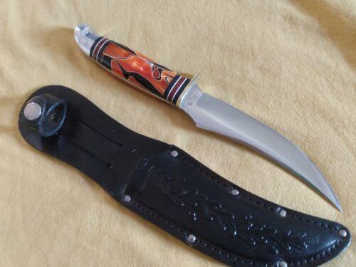 "Western Boulder 9 1/4""  Inferno Fixed Blade Hunting Knife w/sheath"