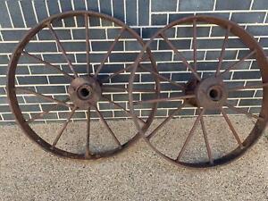 Furphy tank wheels