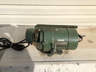 Vintage Atlas Industrial Sewing Machine Clutch Motor Estk-2254 1750 Rpm .3 Hp