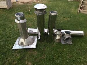 Oil furnace and stainless steel chimney for sale