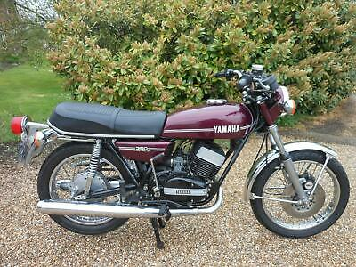 YAMAHA RD350, 1973, 13,360 MILES, CRACKING TWO STROKE IN LOVELY CONDITION