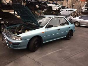 Subaru Impreza GF8 Wagon Manual Wrecking Cheap Currumbin Gold Coast South Preview