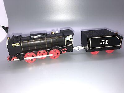 Hiro & Coal Car Tender #51 Mattel Thomas & Friends Trackmaster Motorized Train