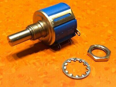 Bourns 3540s-1-103 Resistor Wirewound Pot 10k Ohm 5 2 Watt Solder Lug Panel Mnt