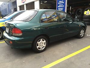 1998 Hyundai Excel Sedan auto long rego Thomastown Whittlesea Area Preview
