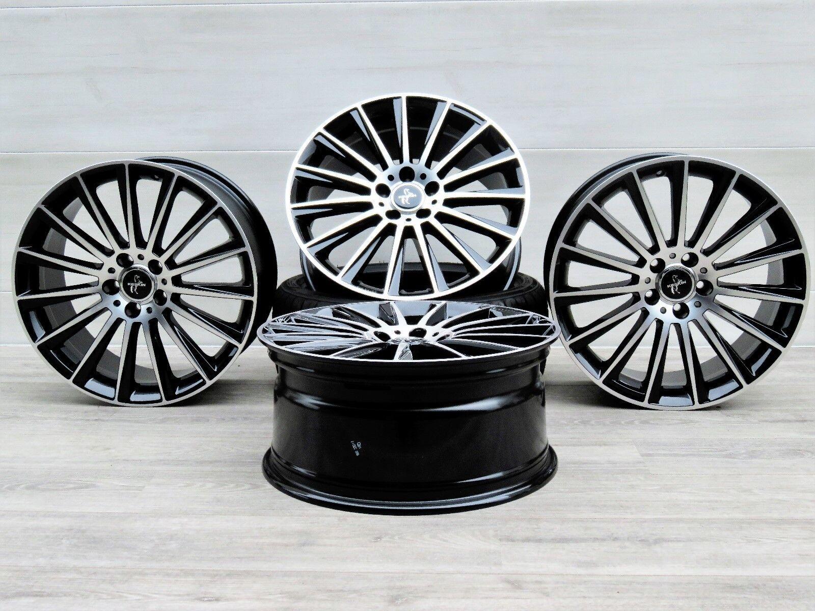 Für Mercedes E-Klasse W212, S212 18 Zoll Alufelgen 8x18 ET45 Keskin KT18 BFP