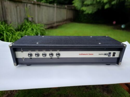Sunn Coliseum Bass Amp Head - Free Shipping to USA