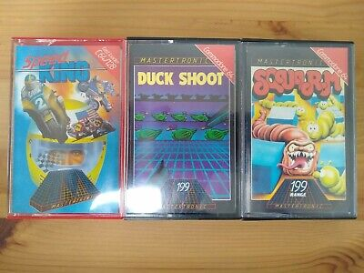 Job Lot Of 3 Commodore 64 Games - Mastertronic
