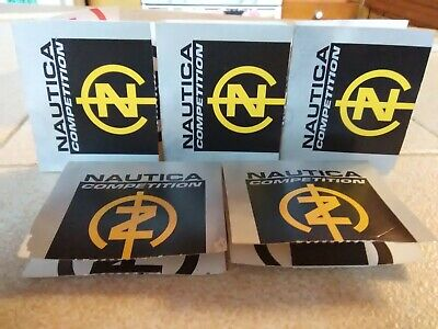 NAUTICA COMPETITION *LOT OF 5* SAMPLE SIZE .05 SPRAY MEN DISCONTINUED/AUTHENTIC