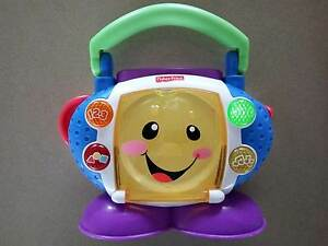 FISHER PRICE Laugh & Learn Sing with me CD player. RRP$29. Good C East Brisbane Brisbane South East Preview