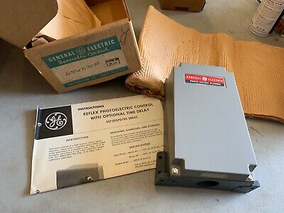 Ge 3s7505ps700b6 Reflex Photoelectric Control Wtime Delay Nos