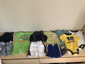6-12 months boys summer clothes
