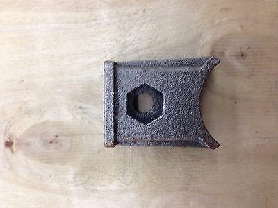 blade or tine bracket uses 10 mm bolt for tillers