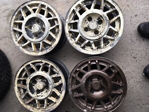 """14"""" Classic VW Volkswagen Wheels Fit BMW e30 4x100 as well"""