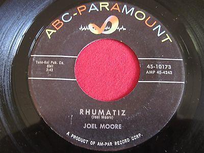 R&B SOUL 45 - JOEL MOORE - RHUMATIZ / SEEKING - ABC PARAMOUNT 10173 VG+
