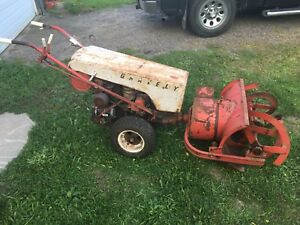 Gravely L series with blower