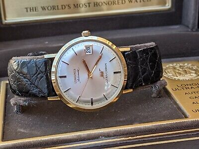 Longines Ultra-Chron - 14kt Gold - Complete w Box & Papers, Minty!!