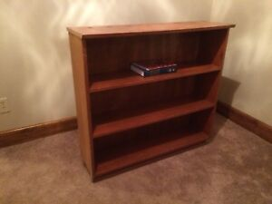 Solid Maple book shelf