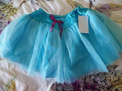 girls size small blue TUTU HALLOWEEN SKIRT COSTUME 1 PC DANCE PRETEND PLAY spark (Sparks Halloween)