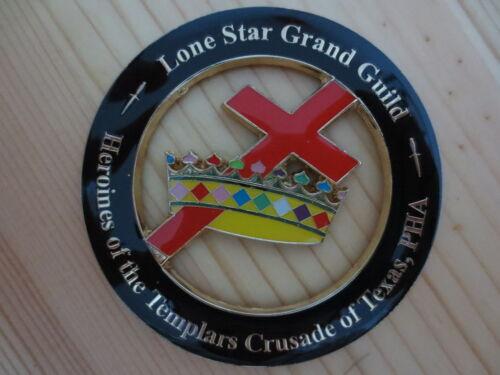 Masonic Car Badge Emblems E10 Mason Freemason Lone Star Grand Guild