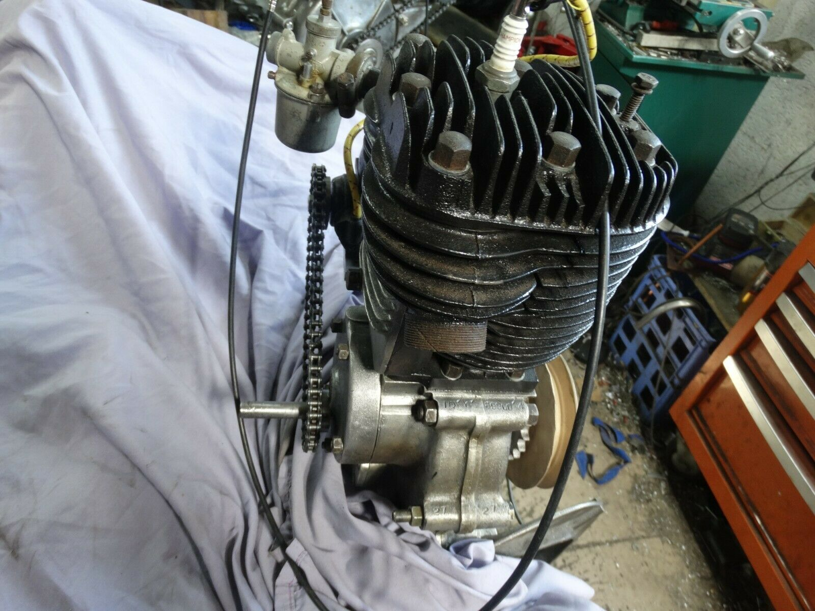 ATCO JAP ENGINE RUNS