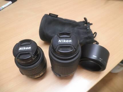 Pair of Nikon DX VR Zoom Lenses Sumner Brisbane South West Preview