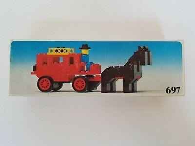 Lego 697 Vintage Wild West Stagecoach - 1970's - Brand New, NISB, NIB - Nice!