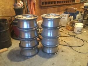 "8 -16"" Chevy truck rims"