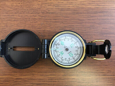 Vintage Engineer Lensatic Compass