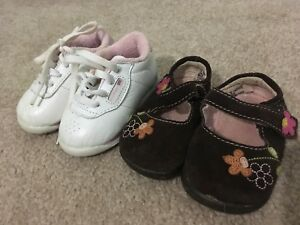 Baby/Toddler size 3 REEBOK and Cherokee Shoes