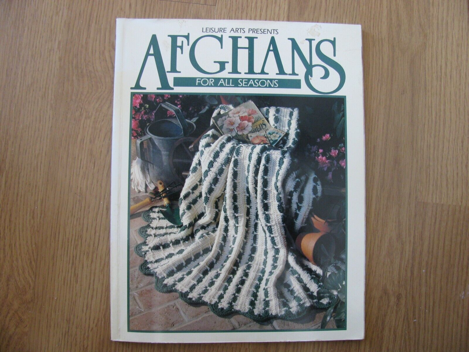 Leisure Arts Presents Afghans for All Seasons, 1993, pbk