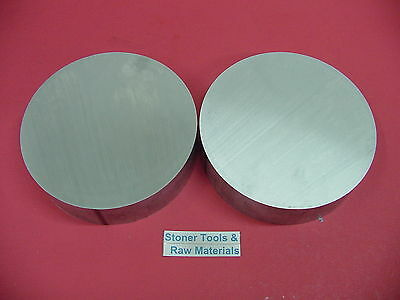 2 Pieces 6 Aluminum 6061 Round Rod 12 Long T6 6.00 Diameter Lathe Bar Stock