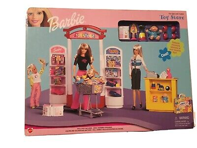 Mattel Barbie Toy Store Play Set 1999 NIB #67793-94