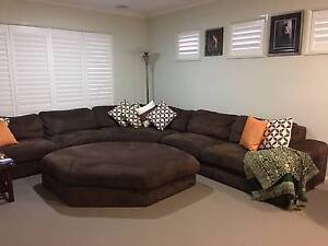Large Corner Lounge with Ottoman Heathwood Brisbane South West Preview
