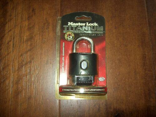 Master lock Titanium Combination Lock 2050XD