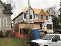 Custom Homes Framing and finishing