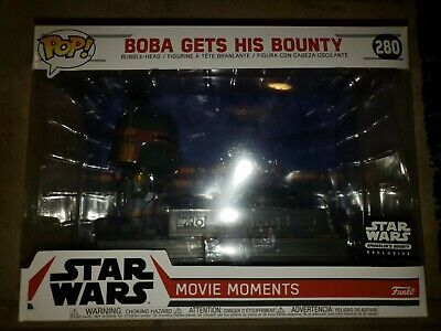 Funko POP! Star Wars Movie Moments Smuggler's Exclusive 280 Boba Gets His Bounty