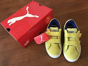Brand new Boys Puma sneaker 100% suede size US12.5