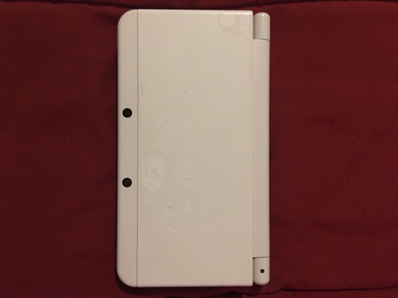 Nintendo New 3DS Super Mario White Edition Gaming System - $235.00