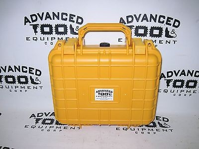 Yellow 10.5 Weatherproof Equipment Case Trimble Geoexplorer 2008 Geo Xt Xh Xm