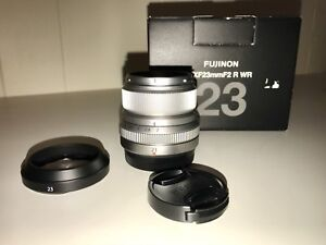 FUJI 23mm f2.0 lens. MINT CONDITION.