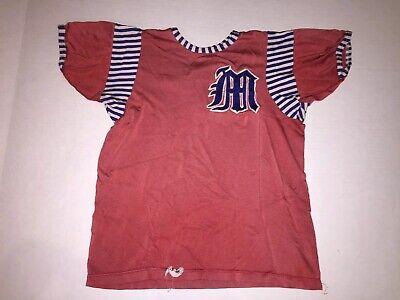 Vintage Baseball Softball Uniform Athletic WearJersey M/L 50s 60s Little League Athletic Baseball Uniform