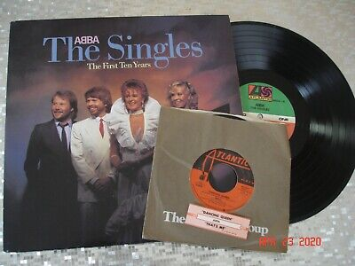 "ABBA ‎– ""ABBA  The Singles The First Ten Years"" Double  LP   Atlantic ‎AL 80036"