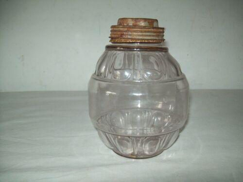 "scarce Unusual screw top ""Alonzoa Knights Boston ""Fruit or condiment  jar ?"