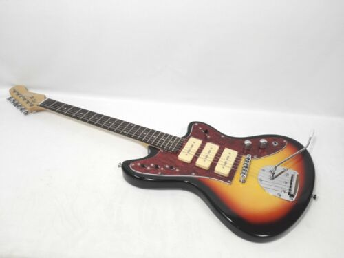 Haze HSJA-1950 Solid Body Electric Guitar,S-S-S Pickups,Sunburst+Free Gig Bag