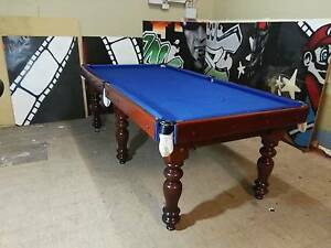 8Ft Slate Top Pool Table Billiard Table Woodville Park Charles Sturt Area Preview