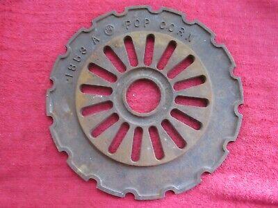 Vintage Ih International Cast Iron 1853a Popcorn Planter Seed Plate Ring