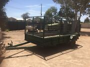Trailer 12x5 caged with drive on ramps Gawler Gawler Area Preview