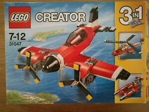 Lego creator 3 in 1 set. 31047. Plane / helicopter / boat