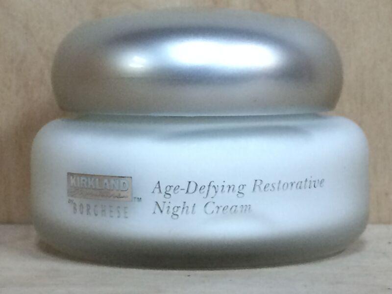 KIRKLAND SIGNATURE BORGHESE AGE DEFYING RESTORATIVE NIGHT CREAM  1.7 oz NO BOX